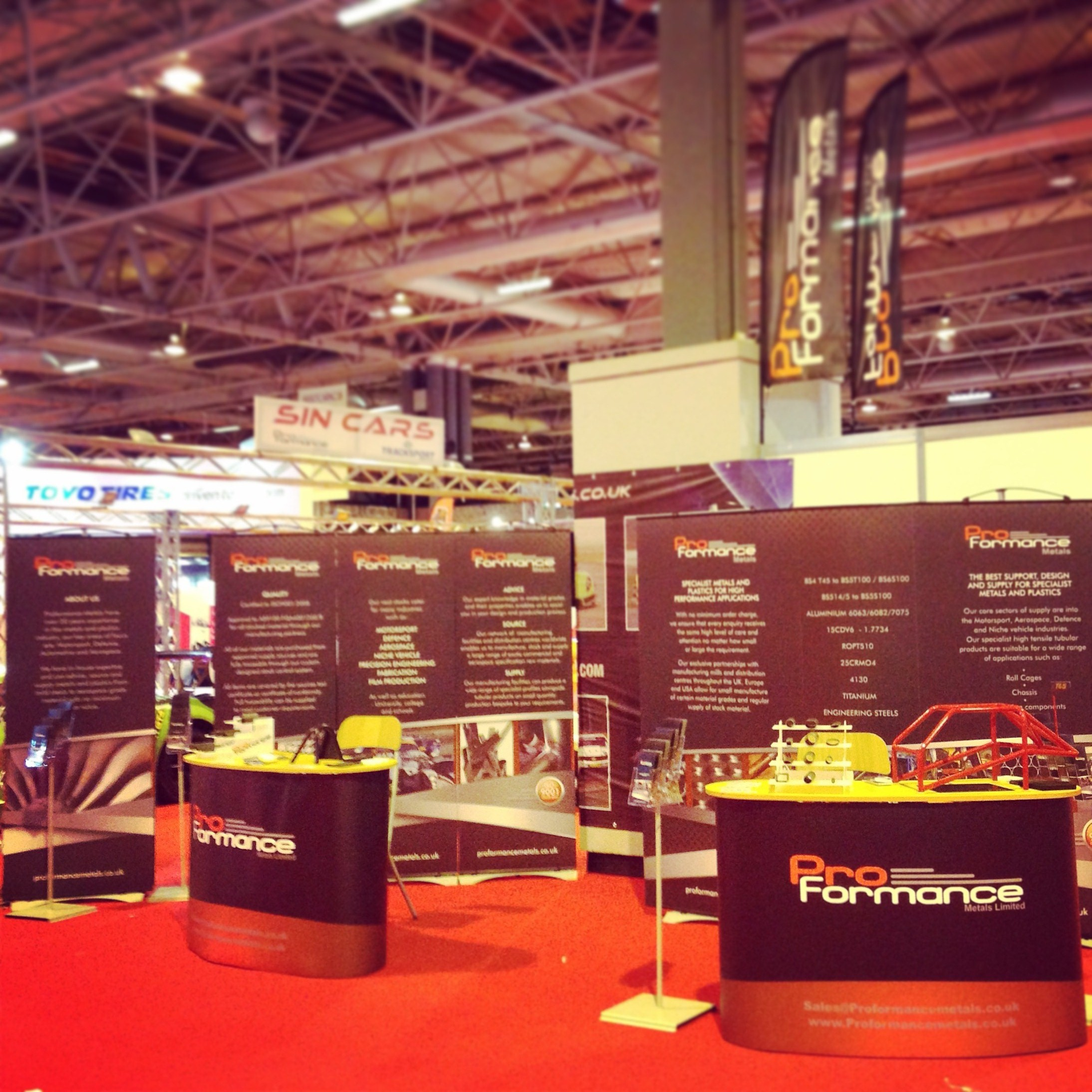 Autosport International show exhibitor