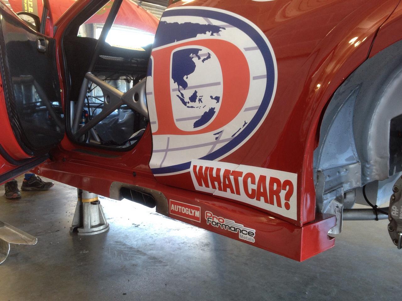 ProFormance Metals sponsor BTCC Eurotech Racing