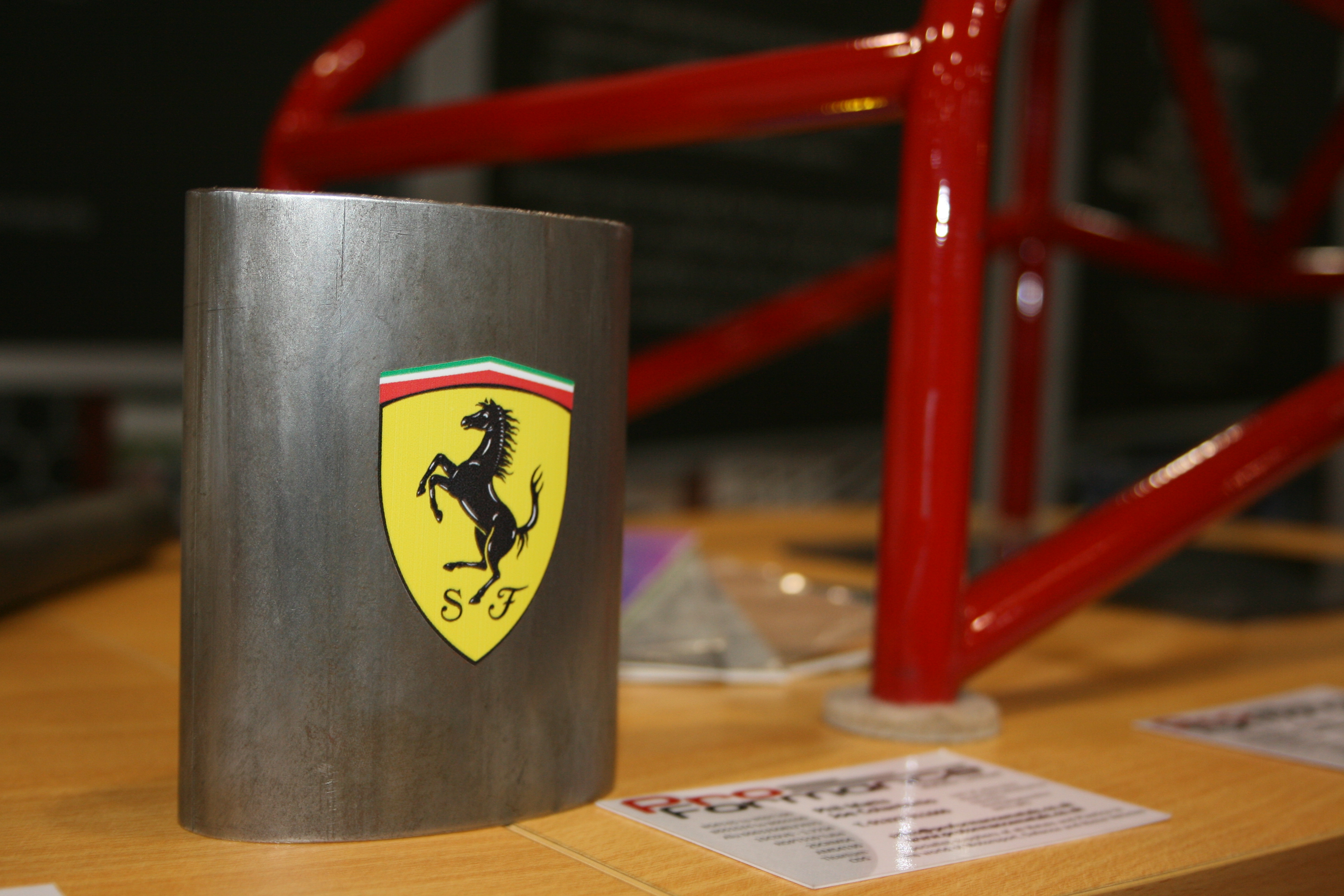 Ferrari Chassis Oval Tube