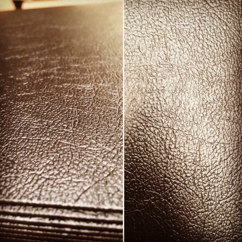 Leathergrain plastic